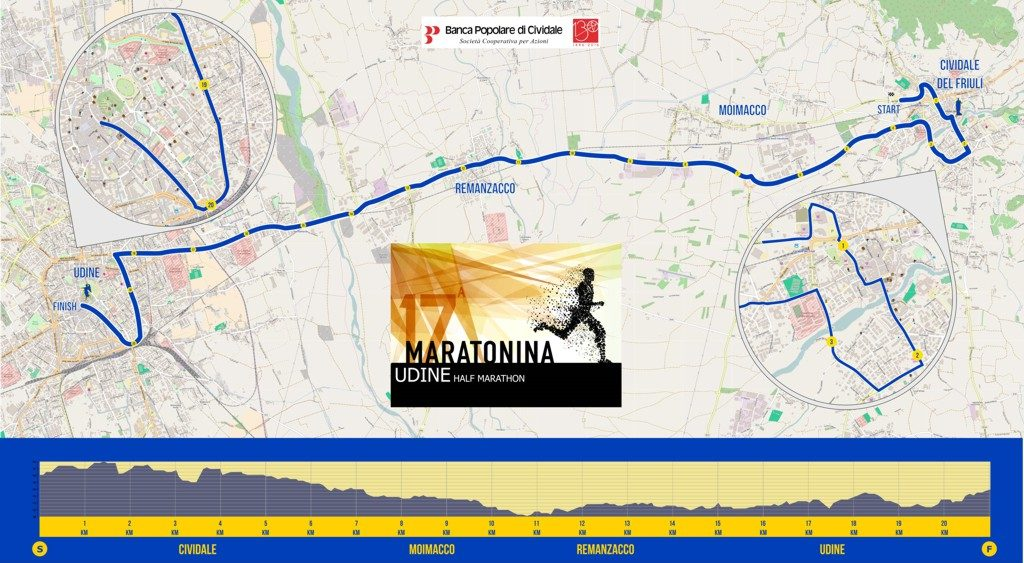 mappa Maratonina 2016