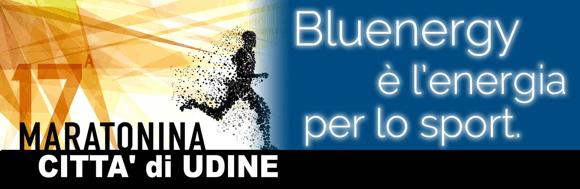 Maratonina Città di Udine: Bluenergy Group energia per lo sport