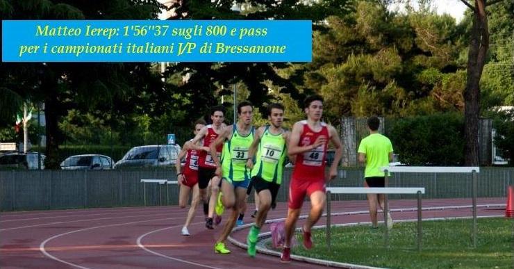 Matteo Ierep ottiene il pass per i campionati italiani
