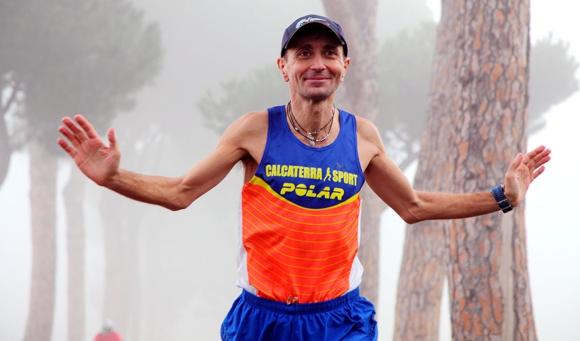 Giorgio Calcaterra alla Maratonina di Udine 2016