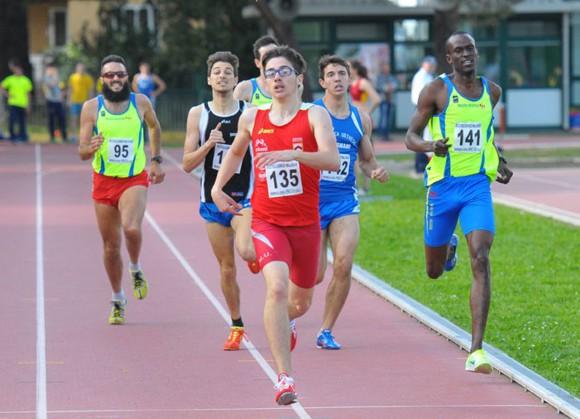 Matteo Ierep campione regionale sugli 800 metri